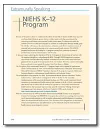 Niehs K12 Program by United Nations