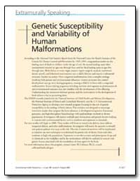 Genetic Susceptibility and Variability o... by United Nations