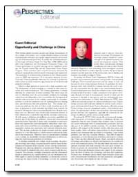 Guest Editorial Opportunity and Challeng... by Xu, Yi