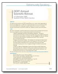 Dert Annual Scientific Retreat 45 Decemb... by Abbott, David H., Ph. D.