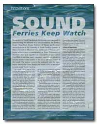 Innovations Sound Ferries Keep Watch by Mcgovern, Victoria