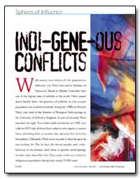 Spheres of Influence Indi-Gene-Ous Confl... by Gobert, Judy
