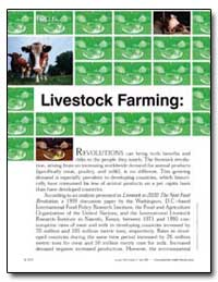 Focus Livestock Farming by United Nations