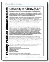 University at Albany,Suny Department of ... by Laurence Kaminsky, Ph. D.