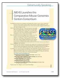 Niehs Launches the Comparative Mouse Gen... by United Nations