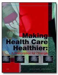 Making Helath Care Healthier by United Nations