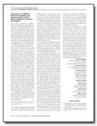 Environmental Health Perspectives, Vol. ... by Landrigan, Philip J.