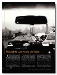 Pollutants Lurk inside Vehicles by United Nations