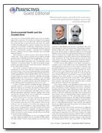 Environmental Health and the Coastal Zon... by Stegeman, John J.