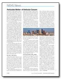 Particulate Mattera Particular Concern by Dooley, Erin E.
