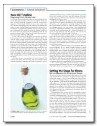 Toxic Oil Timeline Diagnosing Effects De... by Hood, Ernie