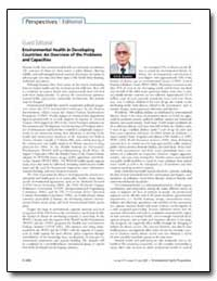Guest Editorial Environmental Health in ... by Gopalan, Hiremagalur N. B.