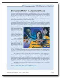 Environmental Factors in Autoimmune Dise... by Mastin, J. Patrick, Ph. D.