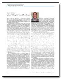 Guest Editorial Systems Biology, The Sec... by Delisi, Charles