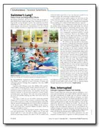 Swimmers Lung Indoor Pools and Respirato... by United Nations