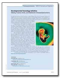 Developmental Toxicology Initiative Obes... by Heindel, Jerry, Ph. D.