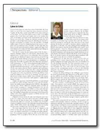 Lakes in Crisis by Schantz, Susan L.