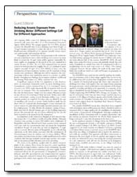 Guest Editorial Reducing Arsenic Exposur... by Graziano, Joseph H.