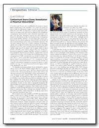 Guest Editorial: Contaminant Source Zone... by Abriola, Linda M.