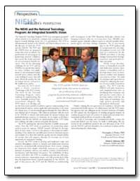 The Niehs and the National Toxicology Pr... by Christopher J. Portier, Ph. D.