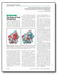 The Shape of Food Allergenicity by Bannerman, Roger