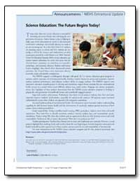 Science Education : The Future Begins To... by Ofallon, Liam R.