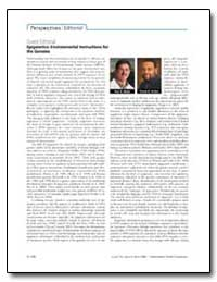 Guest Editorial Epigenetics : Environmen... by Wade, Paul A.
