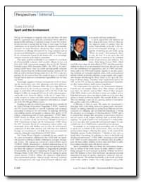 Sport and the Environment by Falt, Eric