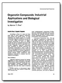 Organotin Compounds : Industrial Applica... by Piver, Warren T.