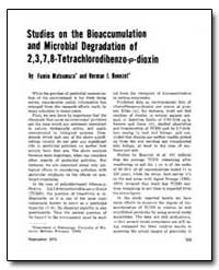 Studies on the Bioaccumulation and Micro... by Matsumura, Fumio