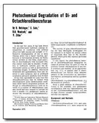 Photochemical Degradation of Di- and Oct... by Wentzell, B. R.
