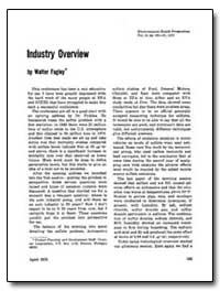 Industry Overview by Fagley, Walter