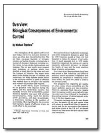 Overview : Biological Consequences of En... by Treshow, Michael