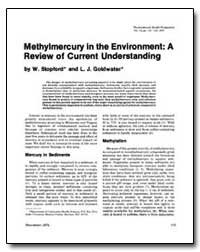 Methylmercury in the Environment : A Rev... by Goldwater, L. J.