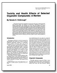 Toxicity and Health Effects of Selected ... by Kimbrough, Renate D.
