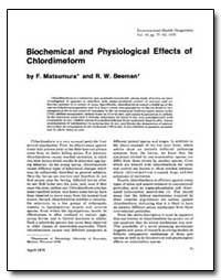 Biochemical and Physiological Effects of... by Beeman, R. W.