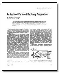 An Isolated Perfused Rat Lung Preparatio... by Young, Stephen L.