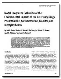 Model Ecosystem Evaluation of the Enviro... by Coats, Joel R.