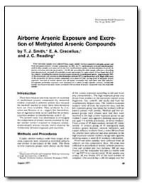 Airborne Arsenic Exposure and Excretion ... by Smith, Thomas J.