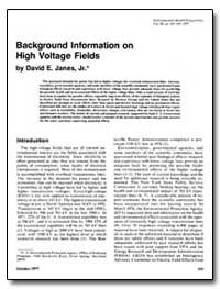 Background Information on High Voltage F... by Janes, David E.