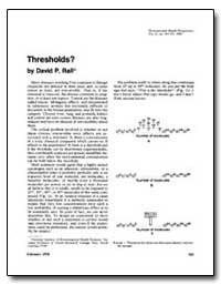 Thresholds by Rall, David P.