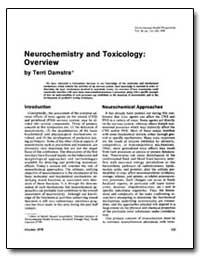 Neurochemistry and Toxicology : - - Over... by Damstra, Terri