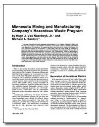 Minnesota Mining and Manufacturing Compa... by Van Noordwyk, Hugh J., Jr.