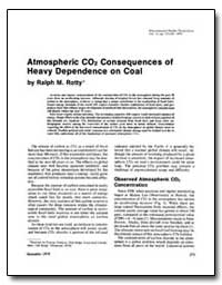 Atmospheric Co2 Consequences of Heavy De... by Rotty, Ralph M.
