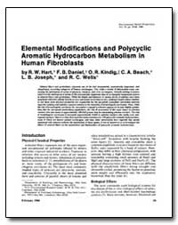 Elemental Modifications and Polycyclic A... by Hart, Ronald W.