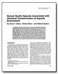Human Health Hazards Associated with Che... by Stara, Jerry F.