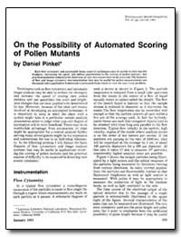 On the Possibility of Automated Scoring ... by Pinkel, Daniel