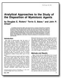 Analytical Approaches to the Study of th... by Rickert, Douglas E.