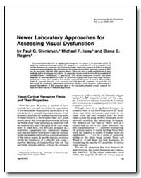 Newer Laboratory Approaches for Assessin... by Shinkman, Paul G.