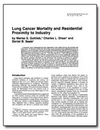 Lung Cancer Mortality and Residential Pr... by Gottlieb, Marise S.